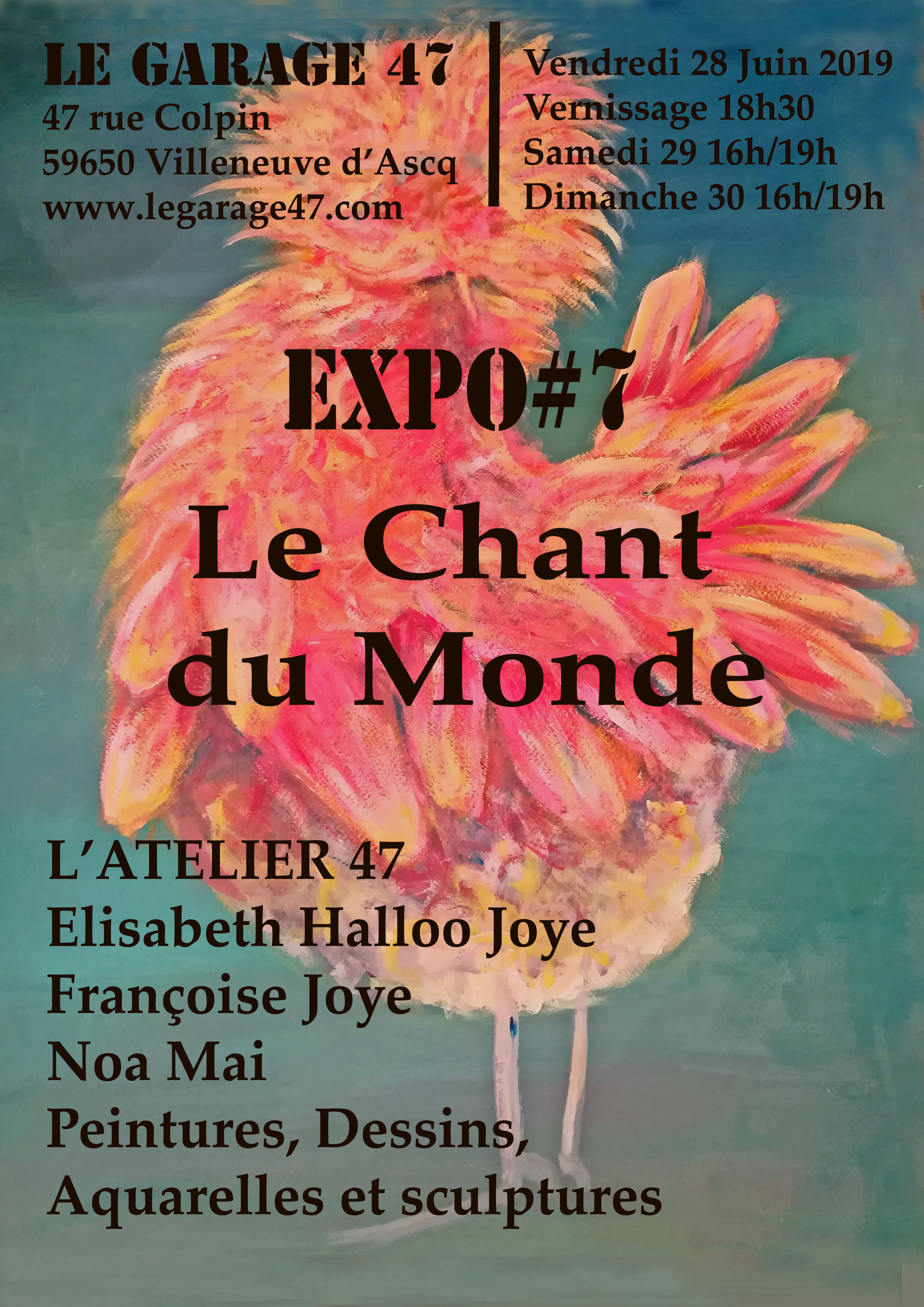 expo affiche 2019